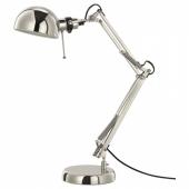 ФОРСО Лампа рабочая,никелированный